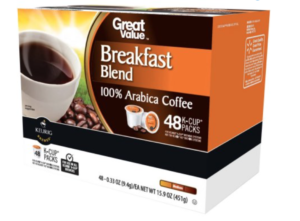 great value breakfast blend k cup