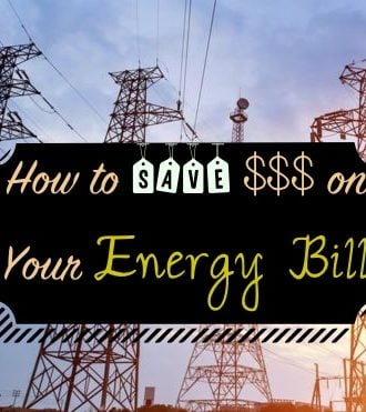 saving on energy bill