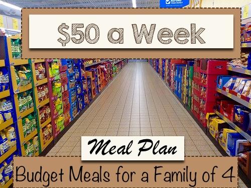 $50 a week meal plan