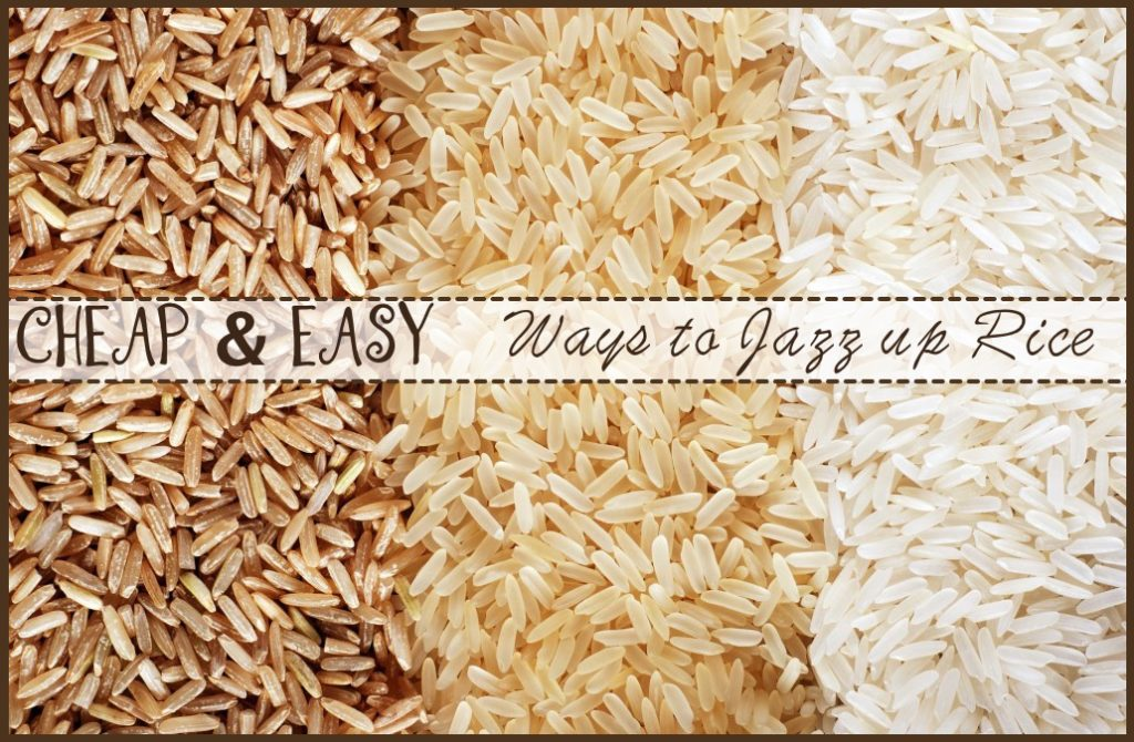 ways to make rice less boring
