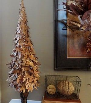 DIY Fall Leaf Tree