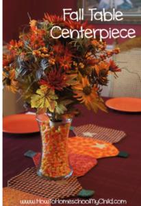 candy corn flower vase