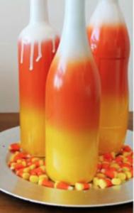 candy corn vase