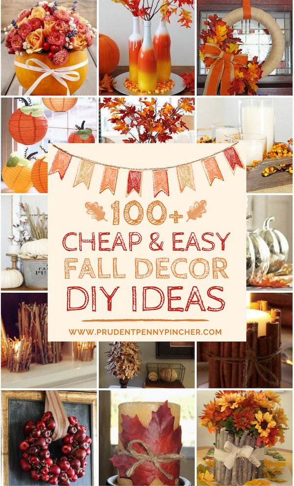 100 And Easy Diy Fall Decor Ideas
