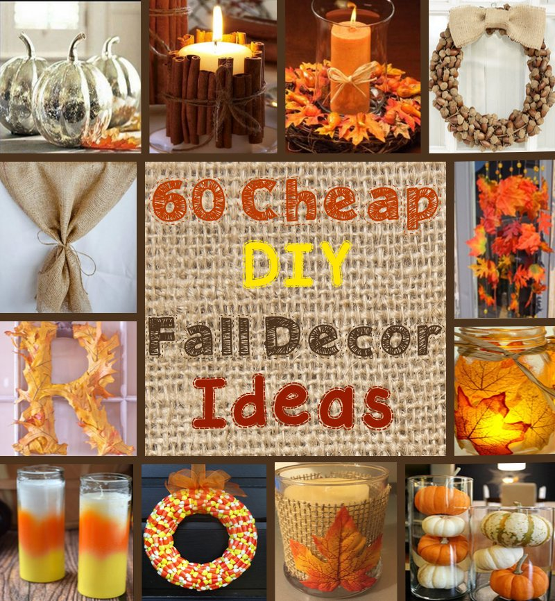 25 Free Things To Do In Lincolnshire Over Summer: 60 Cheap DIY Fall Decor Ideas