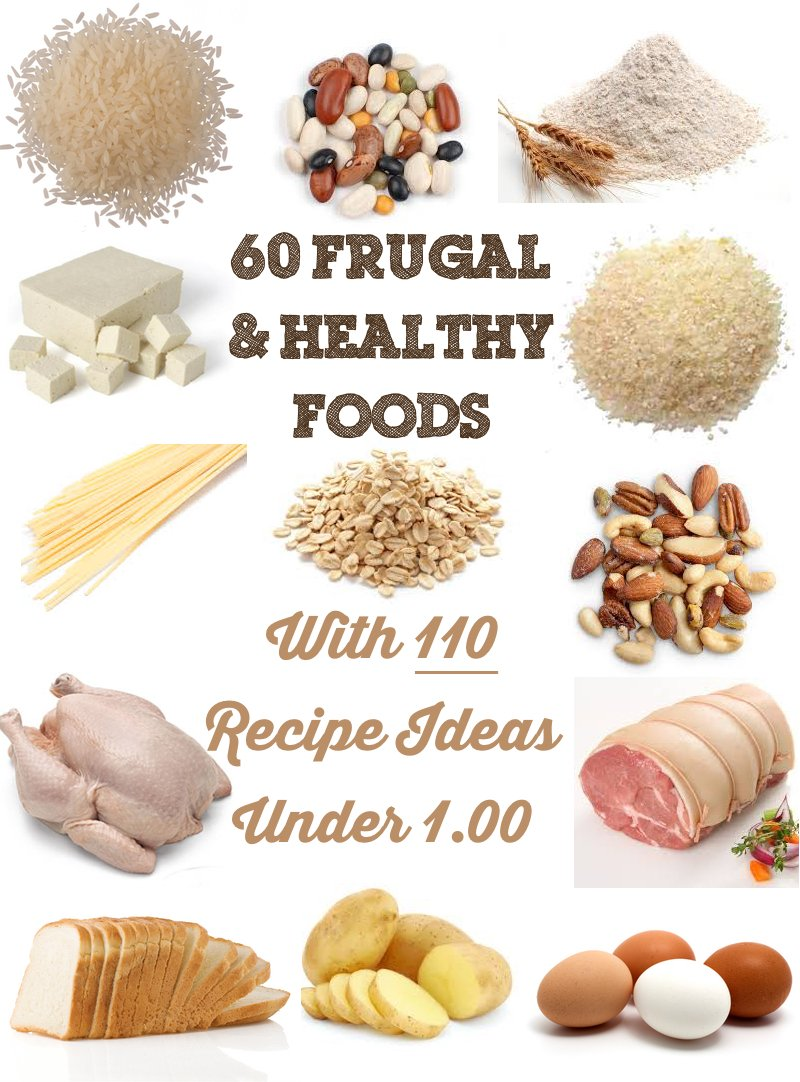 60 Frugal & Healthy Foods with 110 Meal Ideas Under $1 - Prudent ...