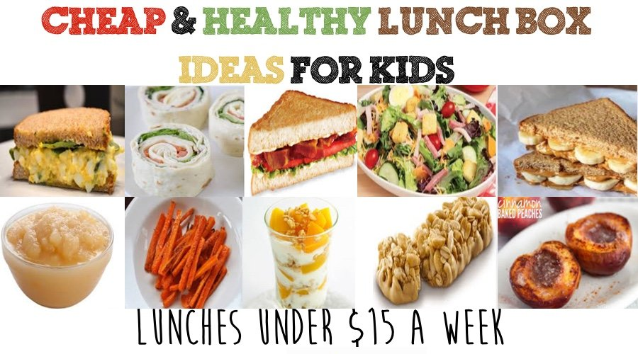 cheap amp healthy lunch box ideas for kids   week 2