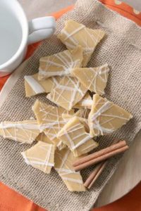 pumpkin bark candy