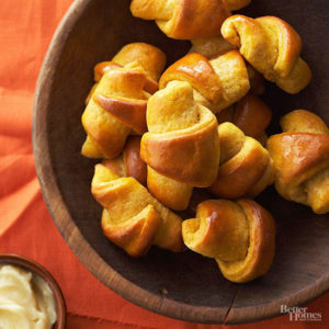 pumpkin crescents