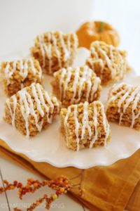 pumpkin rice krispy