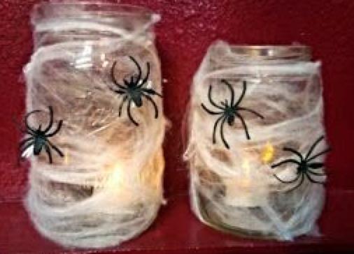 spider web jar