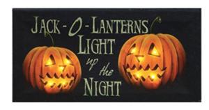 jack o lantern light art