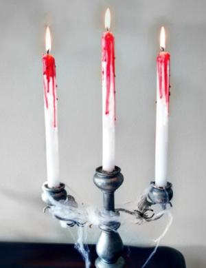 DIY Bleeding Candle