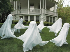 yard ghosts