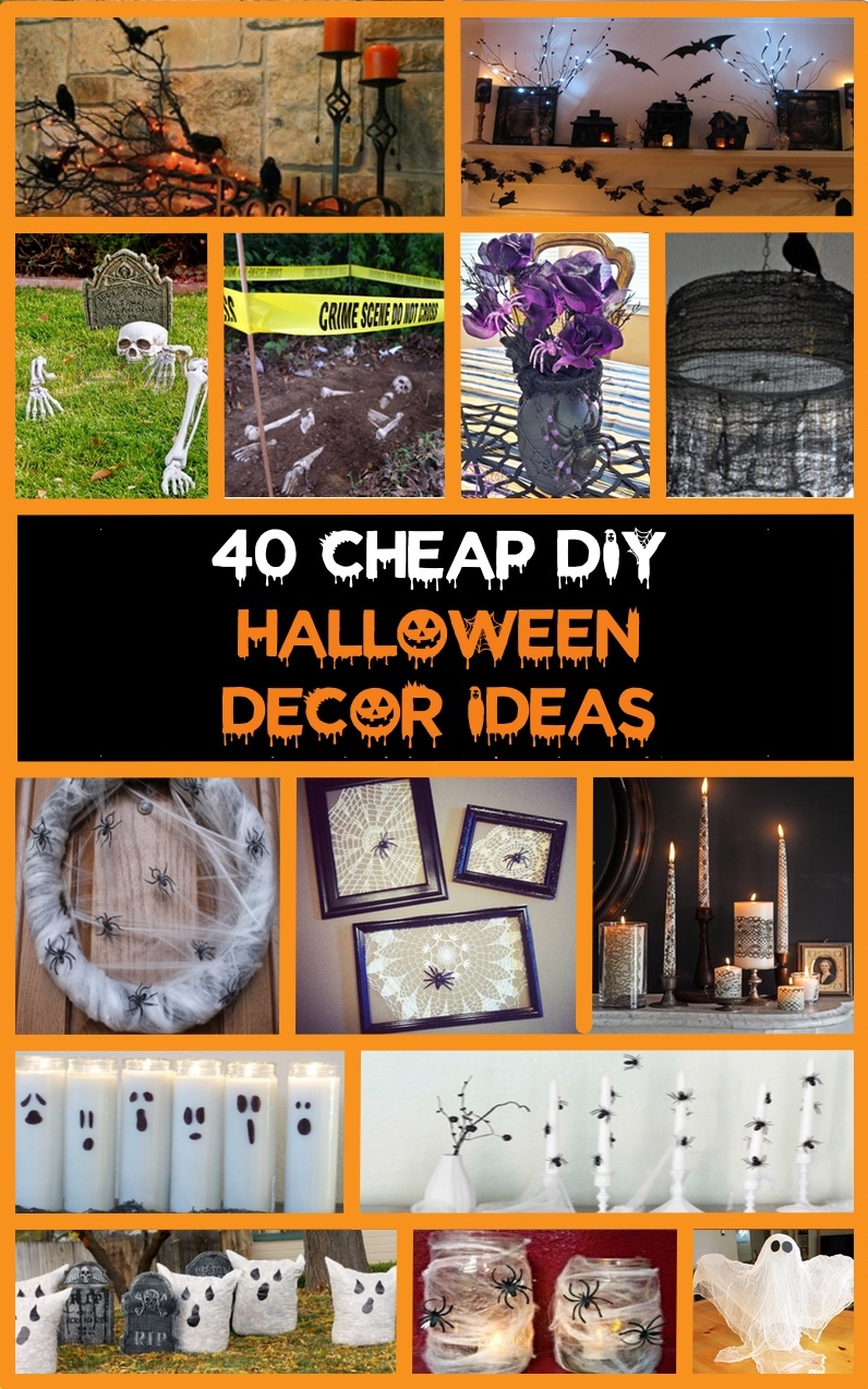 40 cheap easy diy halloween decorations prudent penny Halloween decoration diy cheap