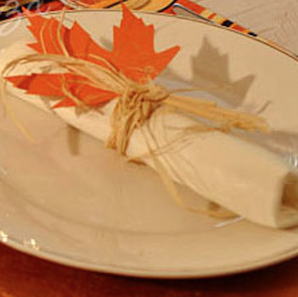 Maple Leaf Napkin
