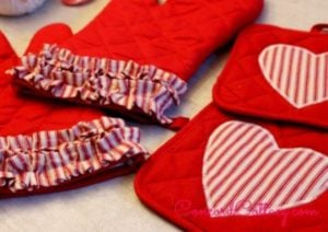 this does take some sewing skill but its easy and cheap if you have a sewing machine dollar store oven mitts fabric