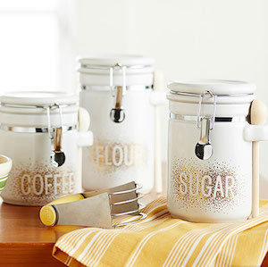 DIY Dot Art Canisters Christmas gift for her