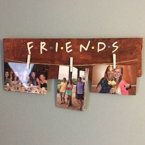 Friends Picture Holder DIY Christmas Gift