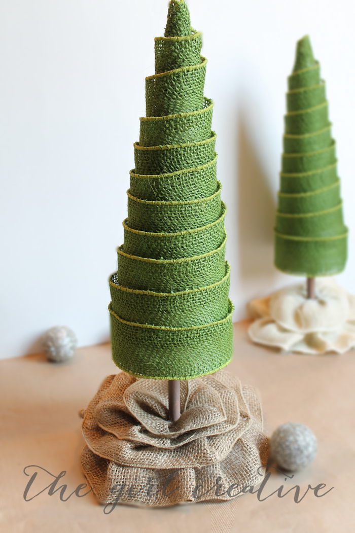Diy Cone Christmas Trees.50 Diy Mini Christmas Trees Prudent Penny Pincher