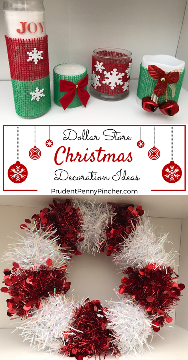DIY Dollar Store Christmas Decorations - DIY Dollar Store Christmas Decorations - Prudent Penny Pincher