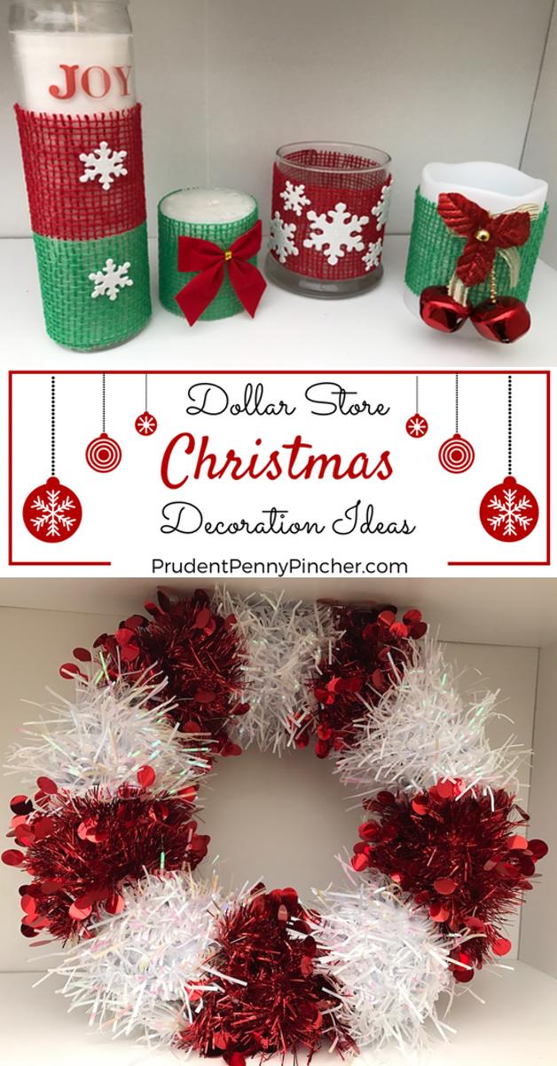 dollar store christmas