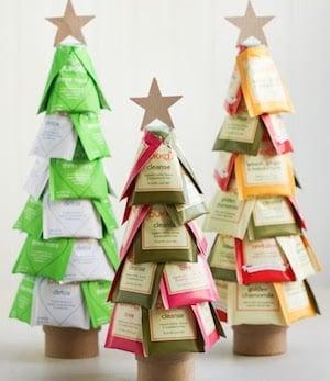 DIY Christmas Tea Treegift