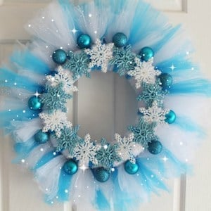 100 Cheap And Easy Diy Christmas Wreaths Prudent Penny Pincher