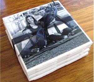 DIY Photo Coasters gift