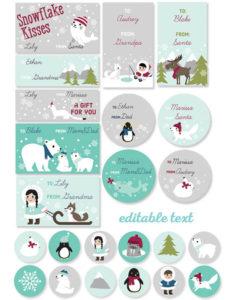 free_printable_polar_christmas_tags_labels