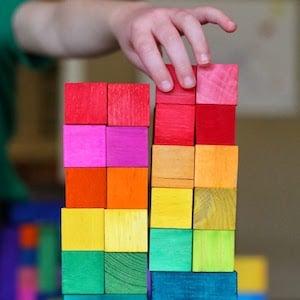 DIYGrimm Rainbow Blocks