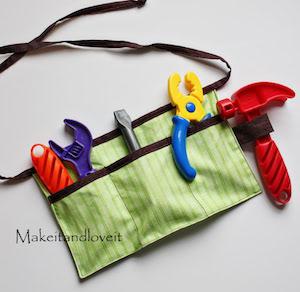 DIY Child's Tool Belt gift idea