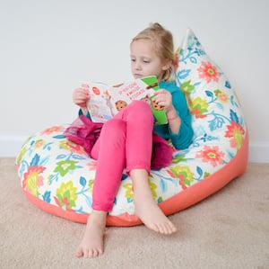 DIY Bean Bag Chairgift for kids