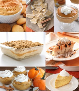 no bake pumpkin