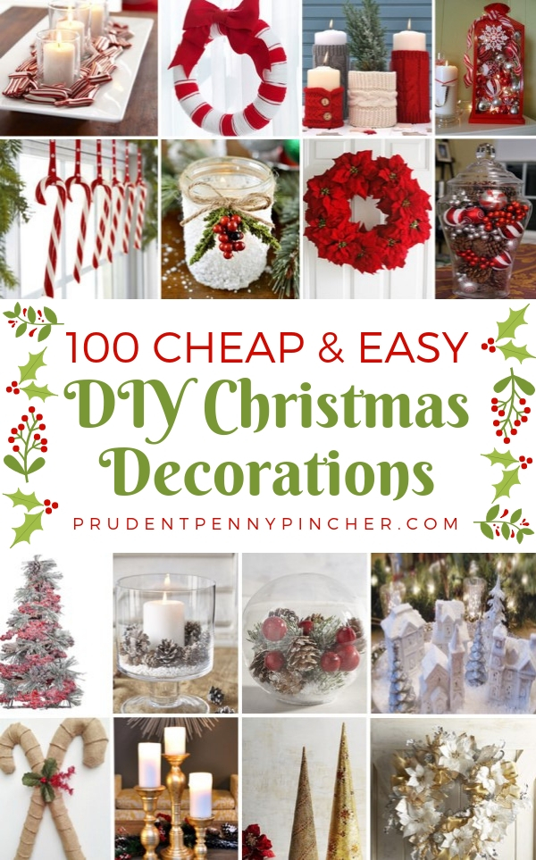 100 best diy christmas centerpieces - Cheap Christmas Decorations