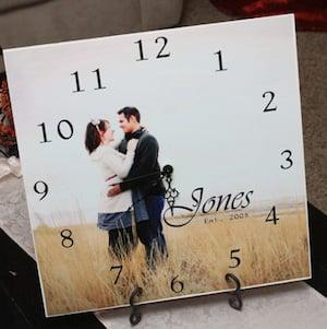 Photo ClockChristmas gift for boyfriend