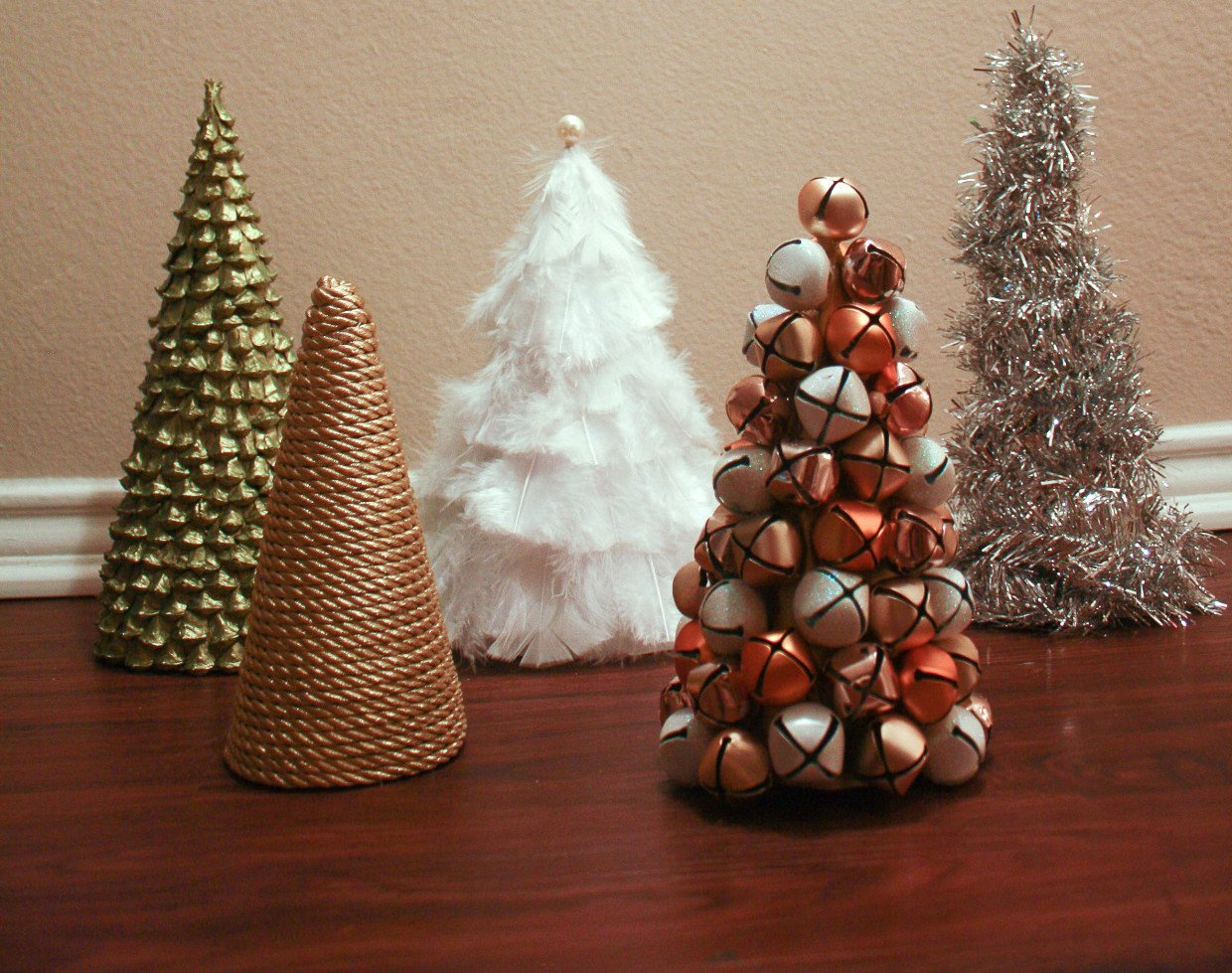 50 Diy Mini Christmas Trees Prudent Penny Pincher