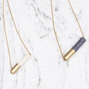 DIY Tube Bead Necklace