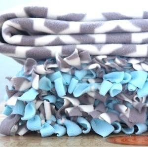 Tied Fleece Blanket