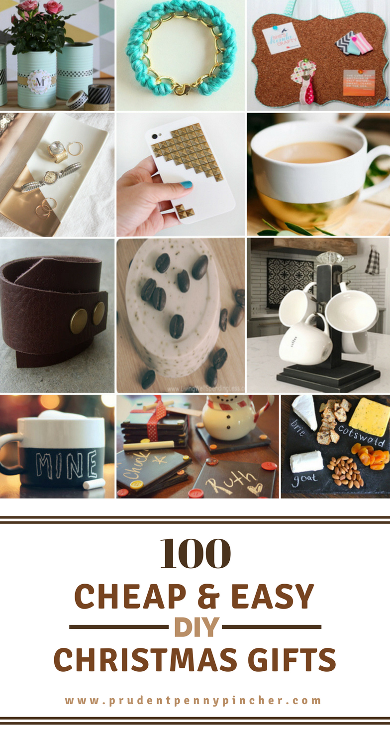 100 Cheap & Easy DIY Christmas Gifts - Prudent Penny Pincher