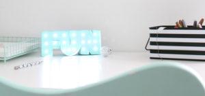 Mini Desk Marquee Light