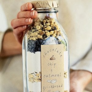 Bread in a Bottle gift idea for christmas
