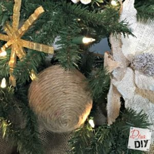 100 rustic christmas decor diy ideas prudent penny pincher jute ball ornaments feature solutioingenieria Gallery