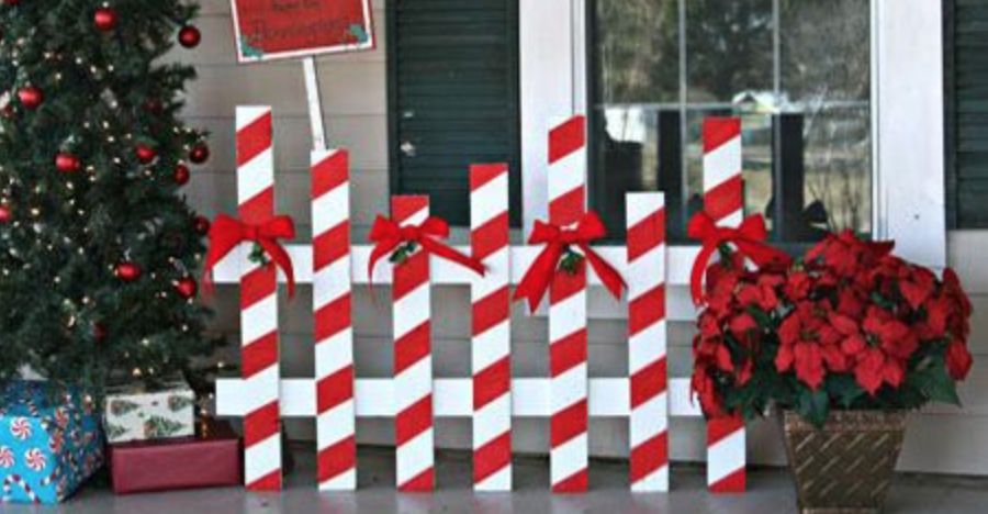 50 cheap easy diy outdoor christmas decorations Diy outside christmas decorating ideas