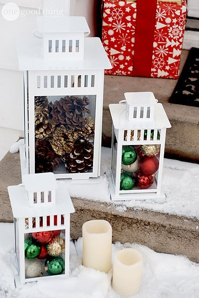 50 Cheap & Easy DIY Outdoor Christmas Decorations ...