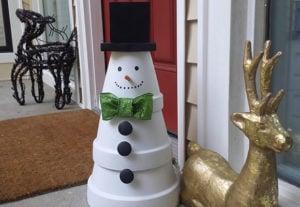 outdoor-snowman