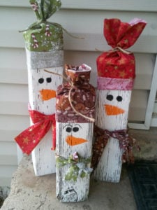 outdoor snowman2 - Cheap Outdoor Christmas Decorations
