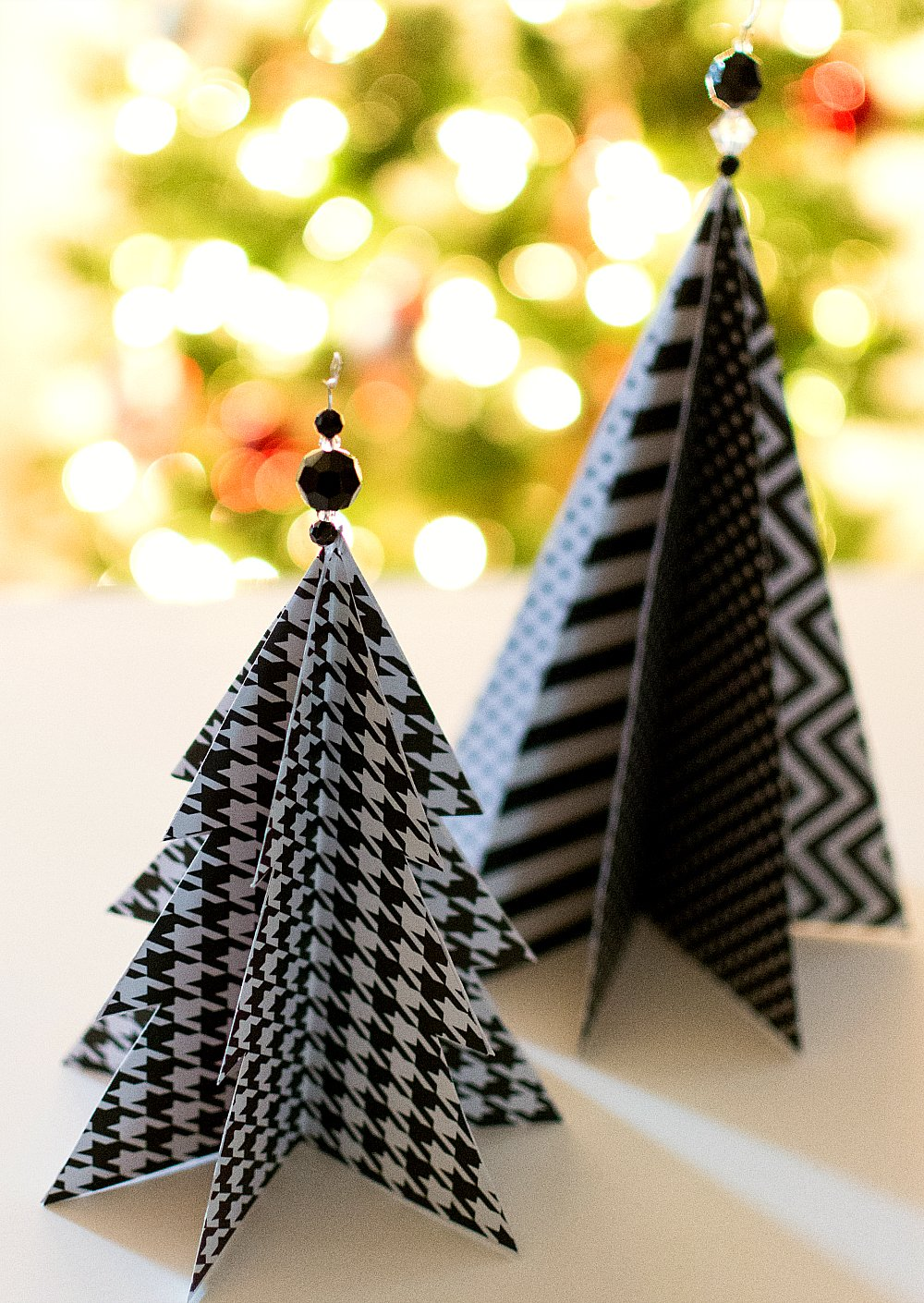 paper christmas tree craft idea 7 of 8 - Paper Christmas Tree Decorations