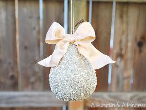 Glitter Pear Ornament