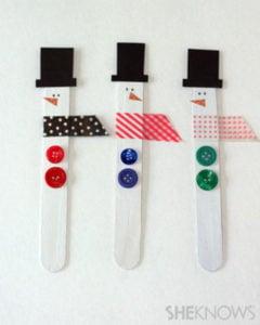 popsicle-snowman